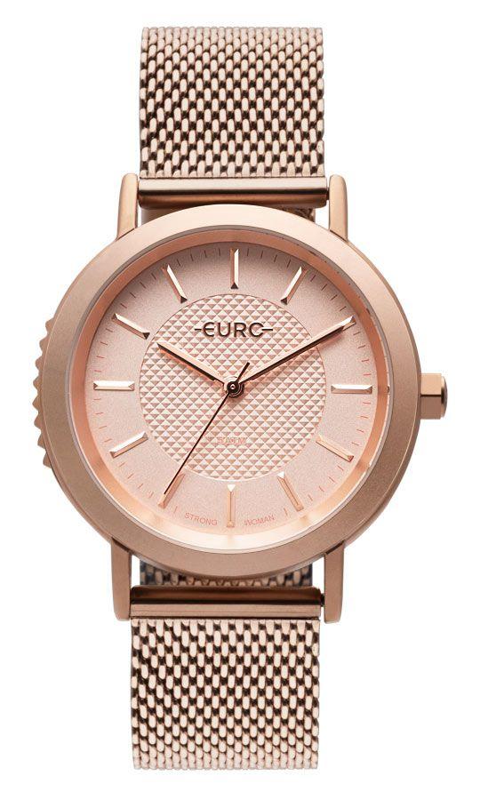 Relógio Euro Strong Woman Spikes Rose Feminino EU2036YMY/4J