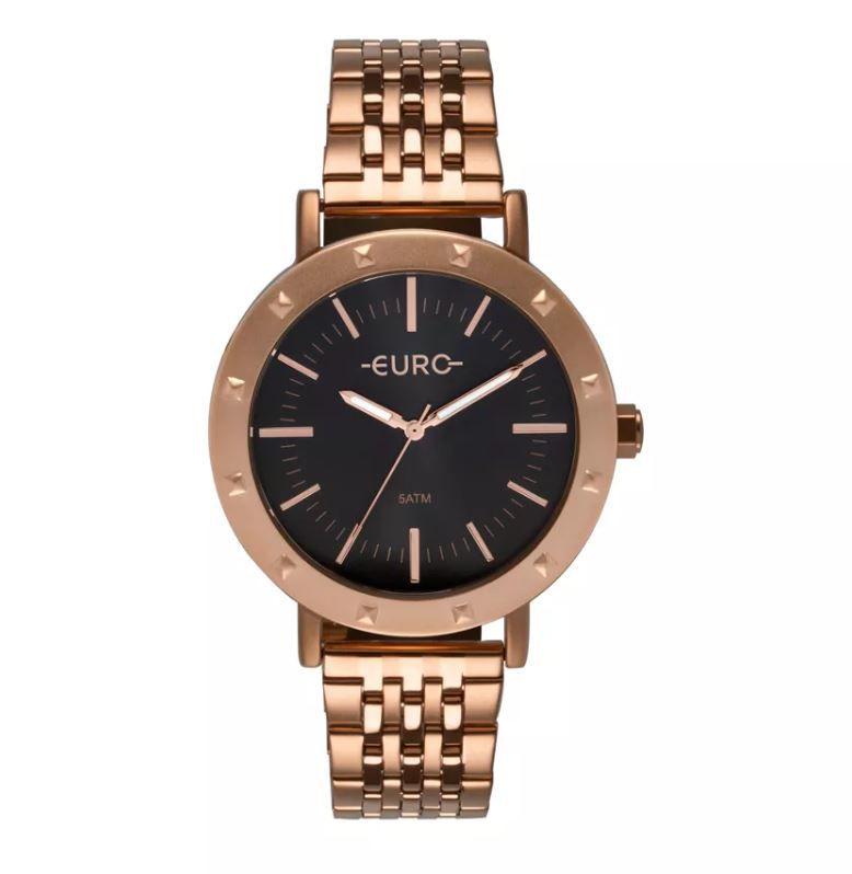 00cba5204c3 Relógio Euro Spike Fever Casual Rose Feminino EU2035YPF 4C ...