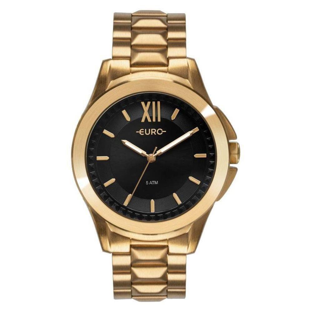 Relógio Euro Spike Fever Power Dourado Feminino EU2036YMV/4P