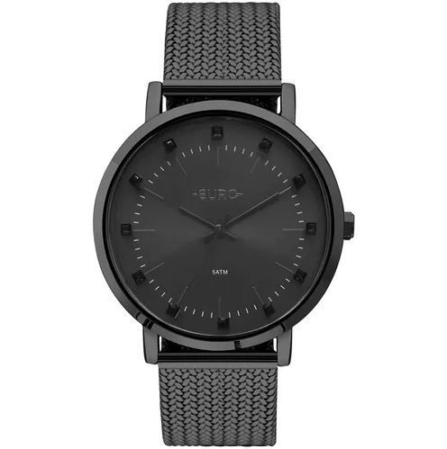 Relógio Euro Spike Illusion Preto Feminino EU2035YMY/4P
