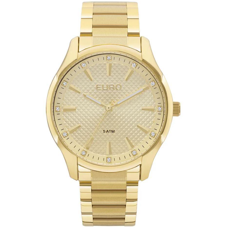 Relógio Euro Spike Road Dourado Feminino EUY121E6AB/4D
