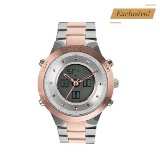 Relógio Euro Sporty Lux Bicolor Feminino EUBJ3889AB/5K