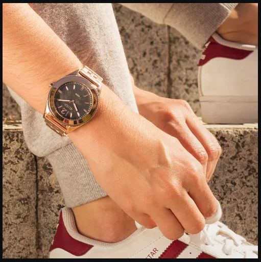 Relógio Euro Trendy Rose Feminino EU2036YML/4C