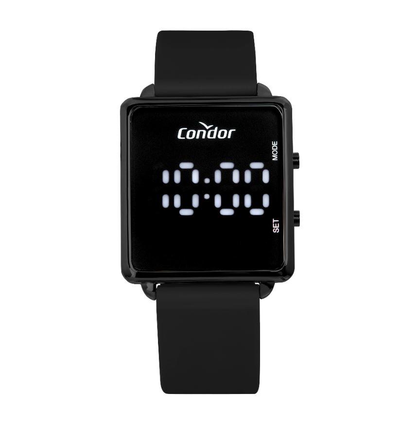 Relógio Feminino Condor Digital Led COMD1202AI/5P