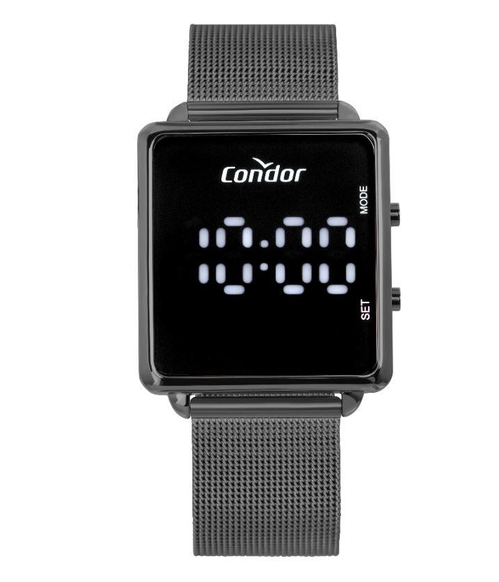 Relógio Feminino Condor Digital Led COMD1202AJ/4F