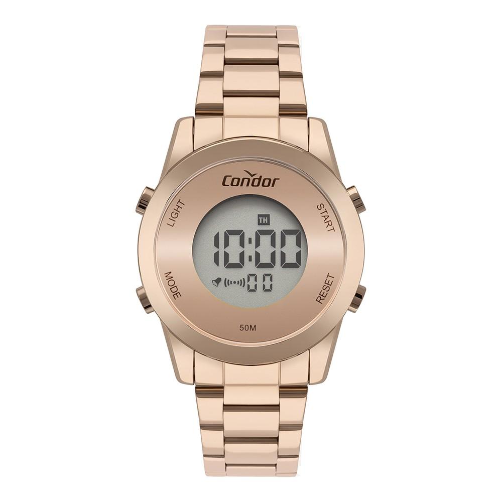 Relógio Feminino Condor Digital Rose COBJ3279AH/4J