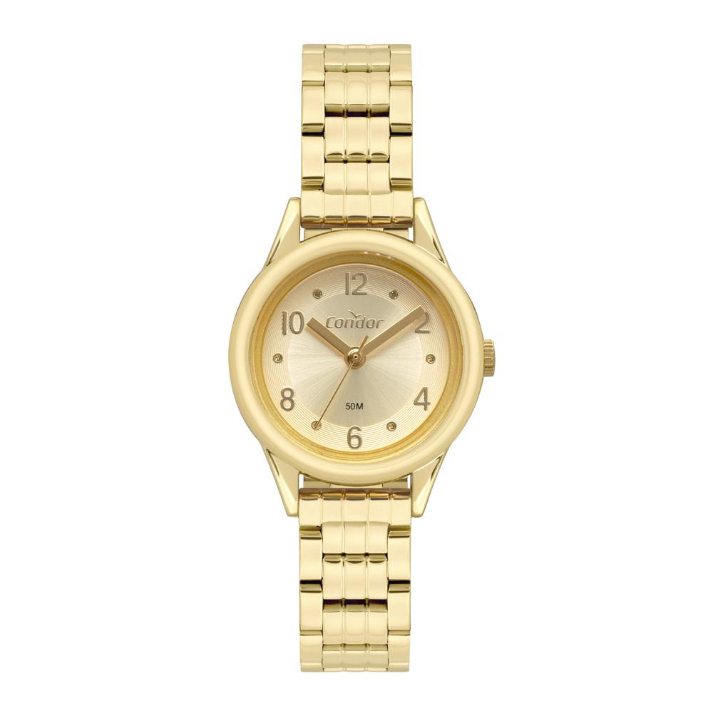 Relógio Feminino Condor Dourado COPC21AEBM/7D