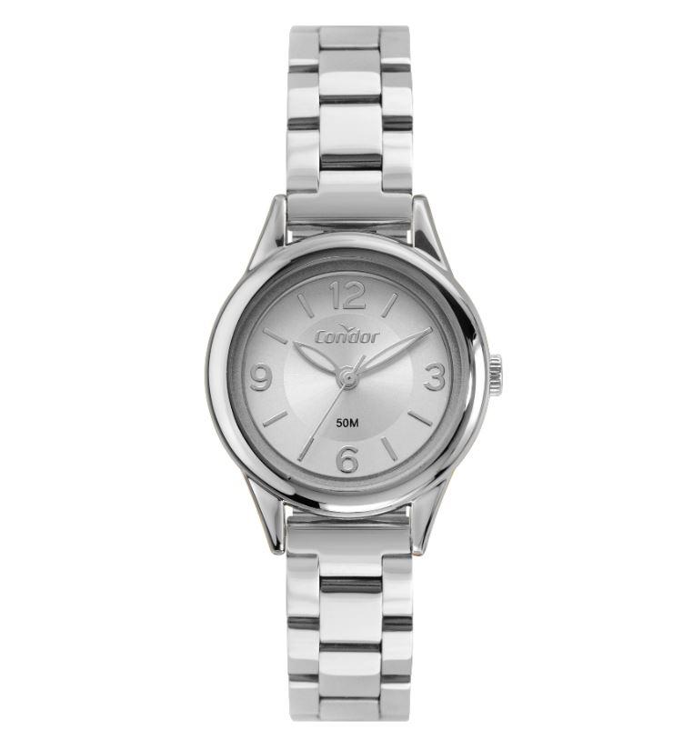 Relógio Feminino Condor Prata COPC21AEDB/7K
