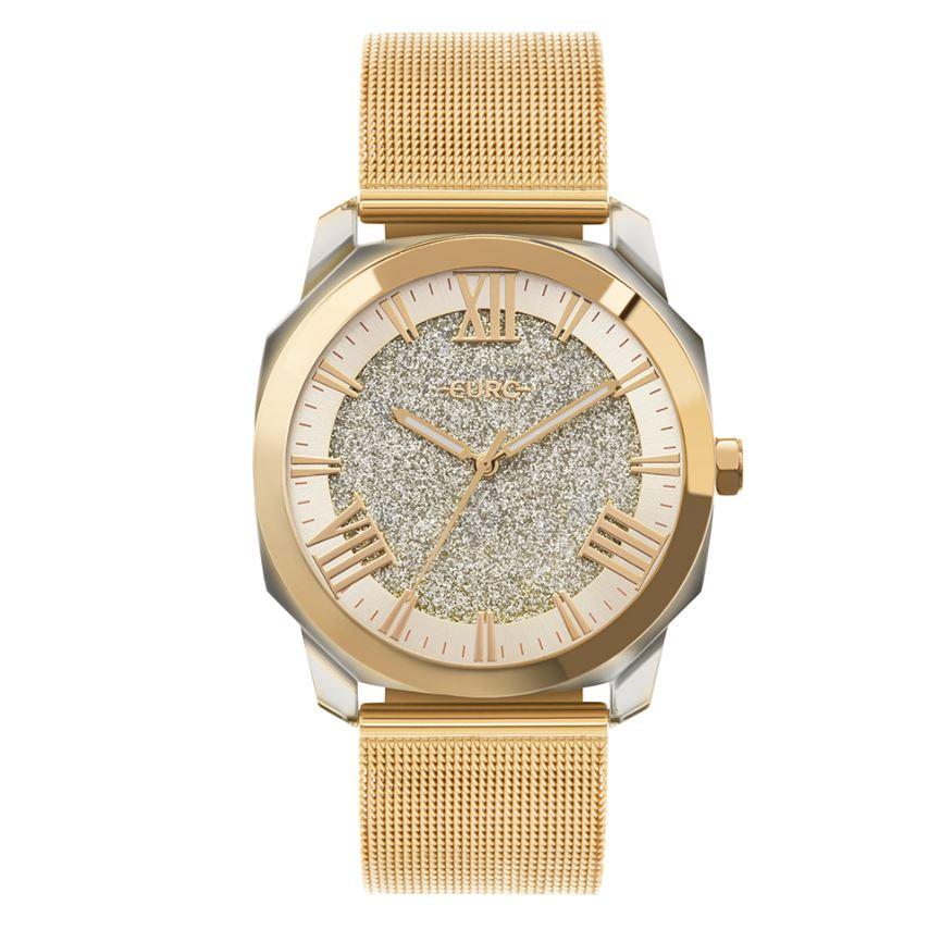 Relógio Feminino Euro Collection Dourado EU2035YSQ/7D
