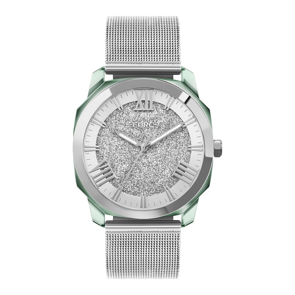 Relógio Feminino Euro Collection Prata EU2035YST/7K