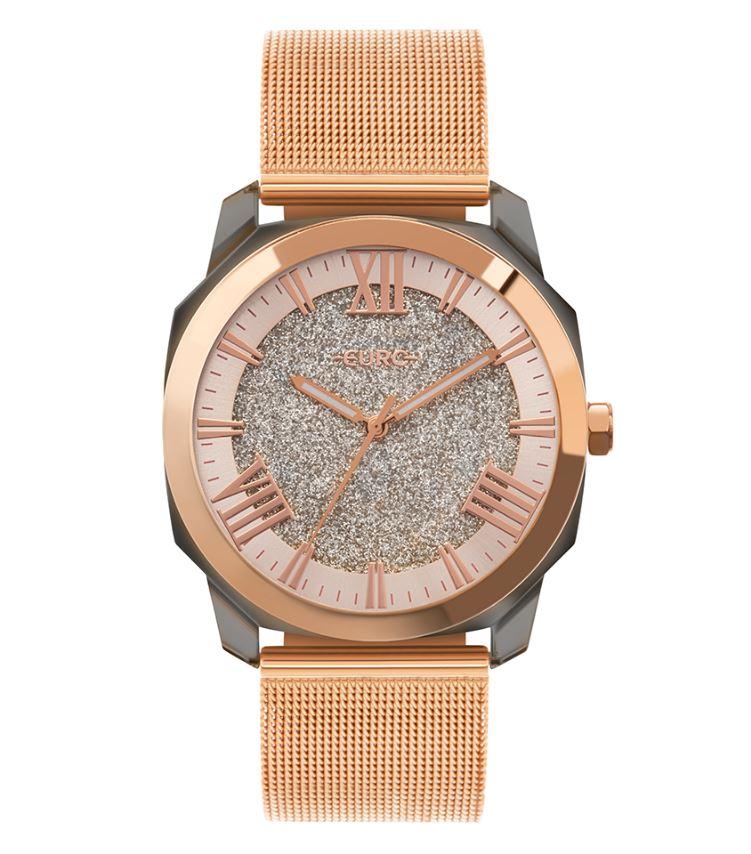 Relógio Feminino Euro Collection Rose EU2035YSR/7J