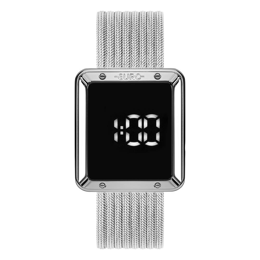 Relógio Feminino Euro Fashion Fit Touch Prata EUBJ3937AD/4F