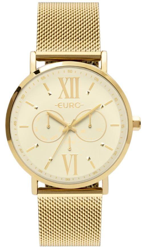 Relógio Feminino Euro Multi Glow  Dourado EU6P29AHT/4D