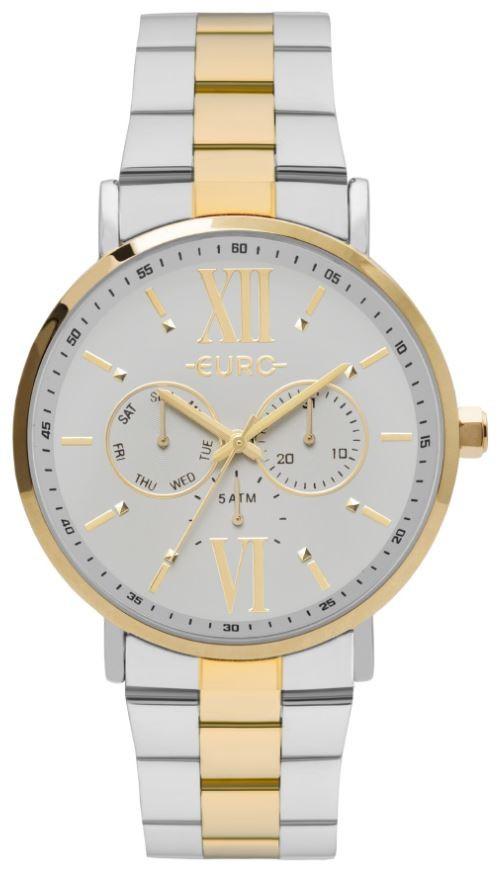 Relógio Feminino Euro Multiglow Bicolor EU6P29AHU/4C