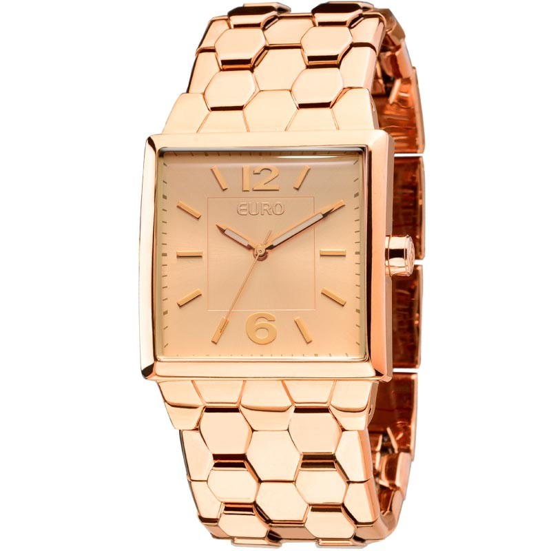 Relógio Feminino Euro Rosé EU2035LVQ/4T