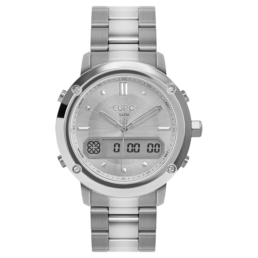 Relógio Feminino Euro Sporty Lux Prata EUBJ3890AC/4F