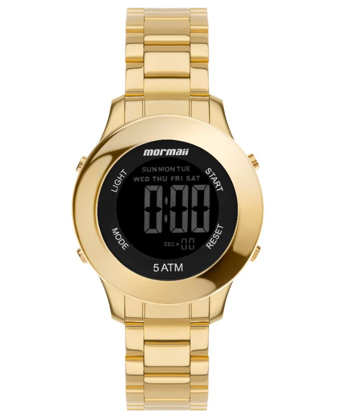 Relógio Feminino Mormaii Dourado MO4219AC/7D
