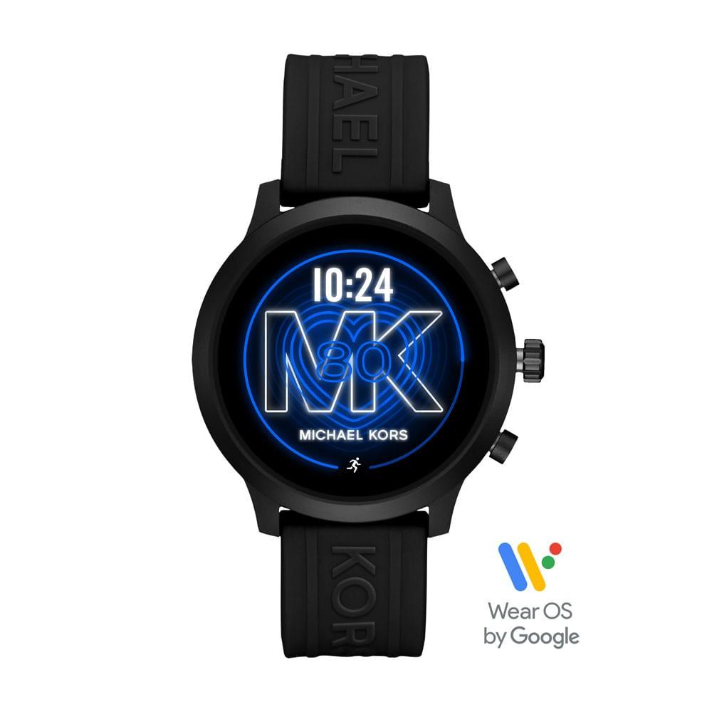 Relógio Feminino Smartwatch Michael Kors Mk Go Preto MKT5072/2PI