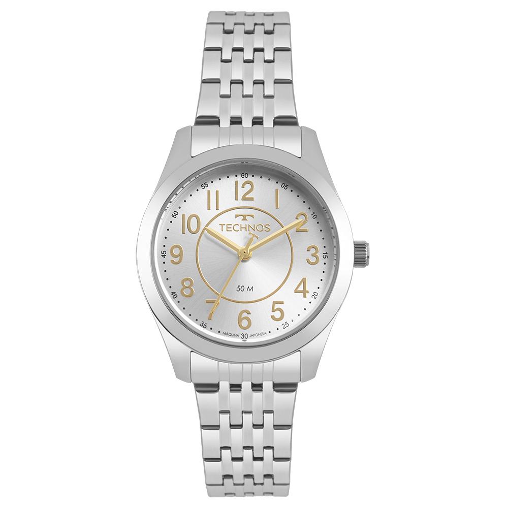 Relógio Feminino Technos Boutique Prata 2035MJES/1B