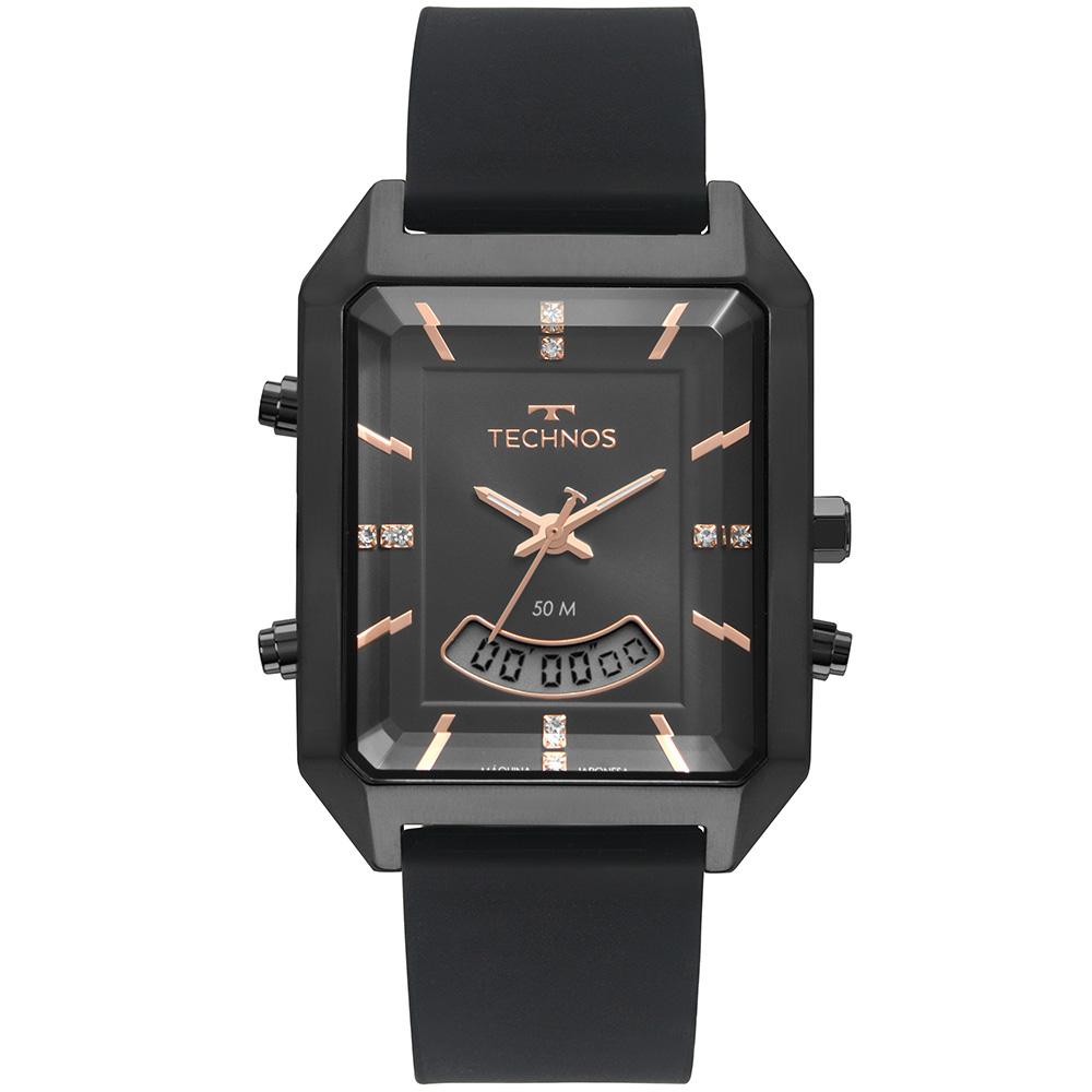 Relógio Feminino Technos Digiana Preto T200AI/2P