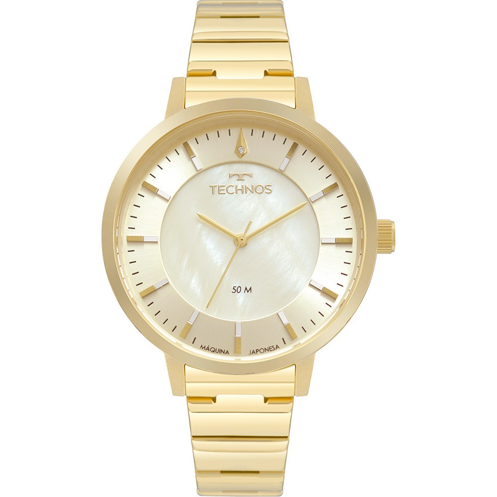 Relógio Feminino Technos Dourado 2033CQ/K4X