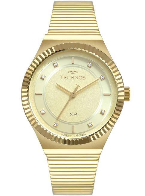 Relógio Feminino Technos Dourado 2035MRU/K4X