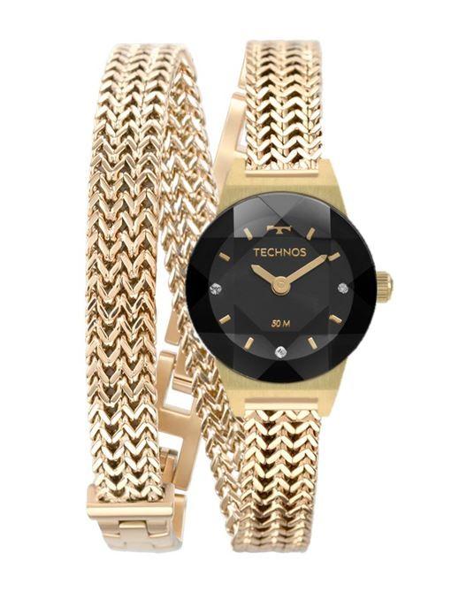 Relógio Feminino Technos Elegance Mini Dourado 5Y20IS/4D