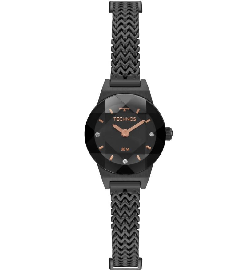 Relógio Feminino Technos Elegance Mini Preto 5Y20IT/4P