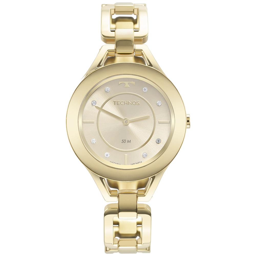 Relógio Feminino Technos Elos Dourado GL20HM/1X