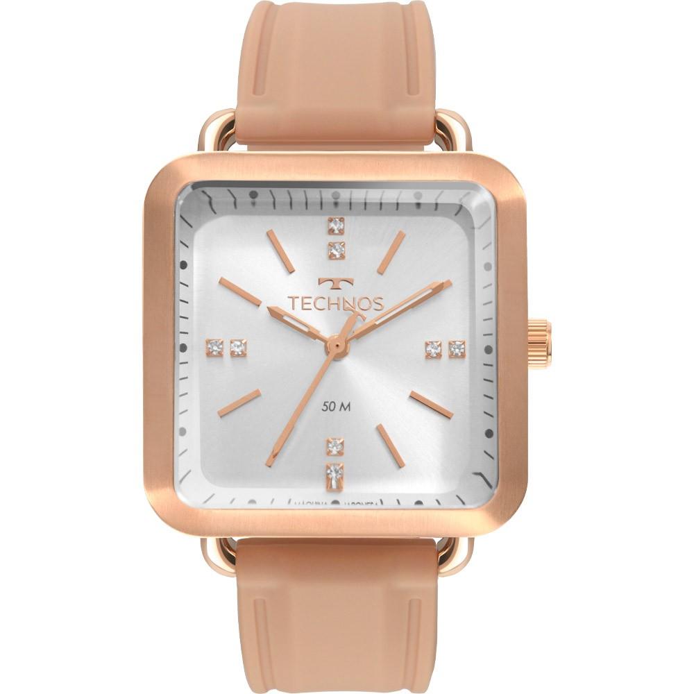 Relógio Feminino Technos Fashion Style Rose 2036MMF/2J