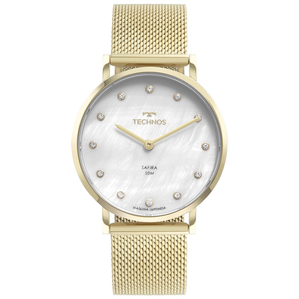 Relógio Feminino Technos Slim Dourado 2025LTU/1B