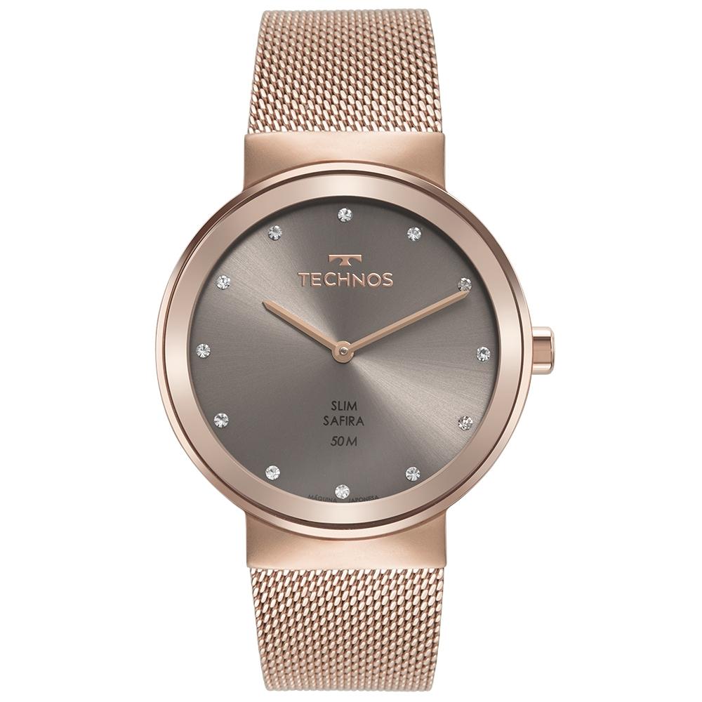 Relógio Feminino Technos Slim Rose 1L22WN/1C