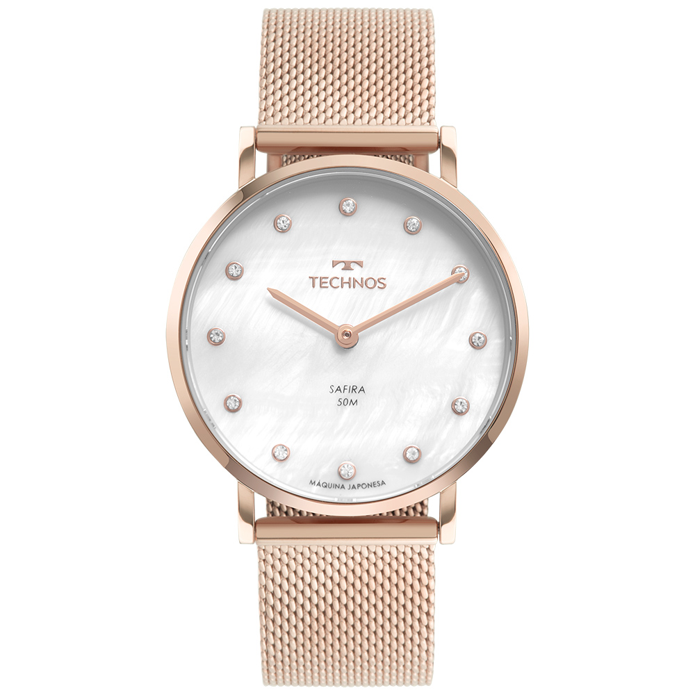 Relógio Feminino Technos Slim Rosé 2025LTV/1B