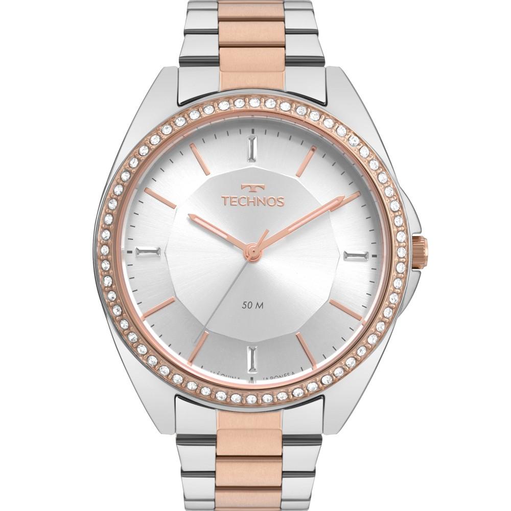 Relógio Feminino Technos Trend Bicolor 2035MQV/K5K