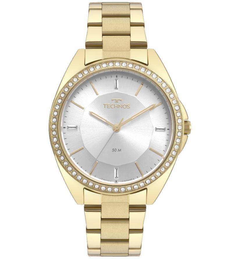Relógio Feminino Technos Trend Dourado 2035MQX/4K