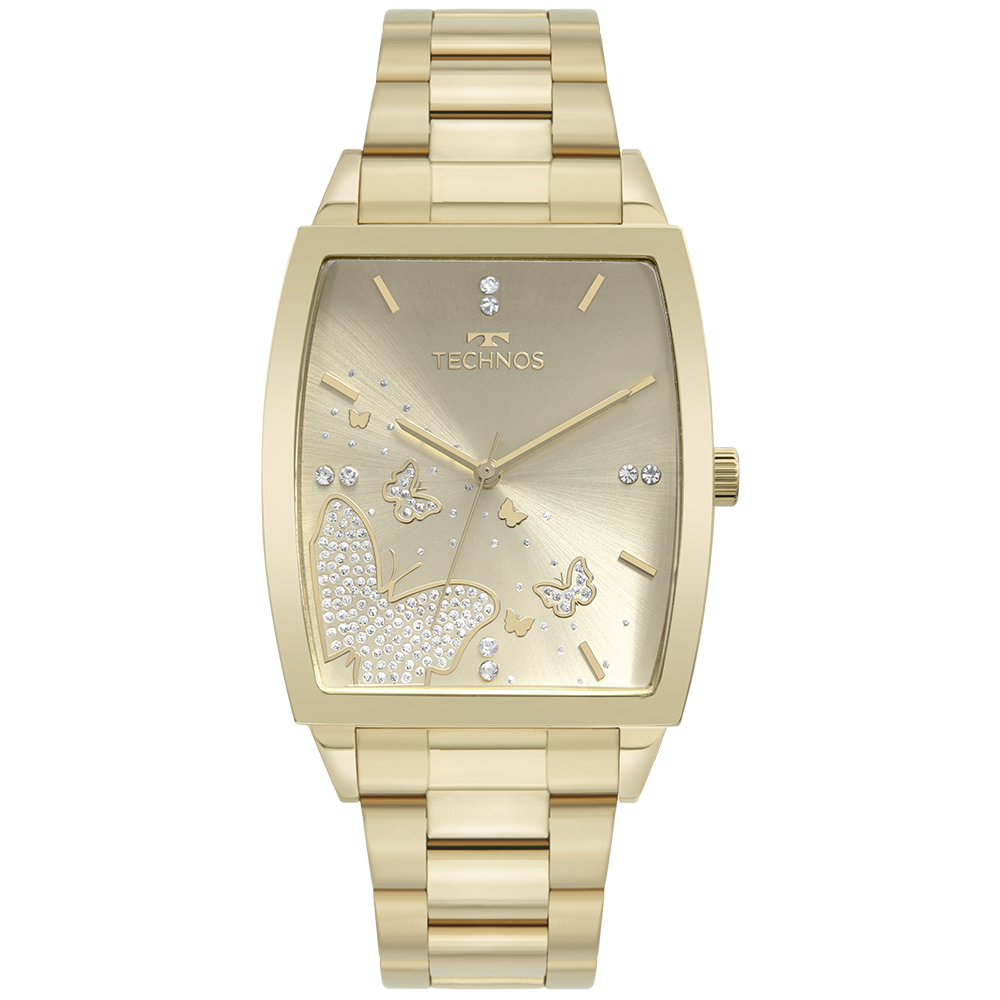 Relógio Feminino Technos Trend Dourado 2035MUG/1X