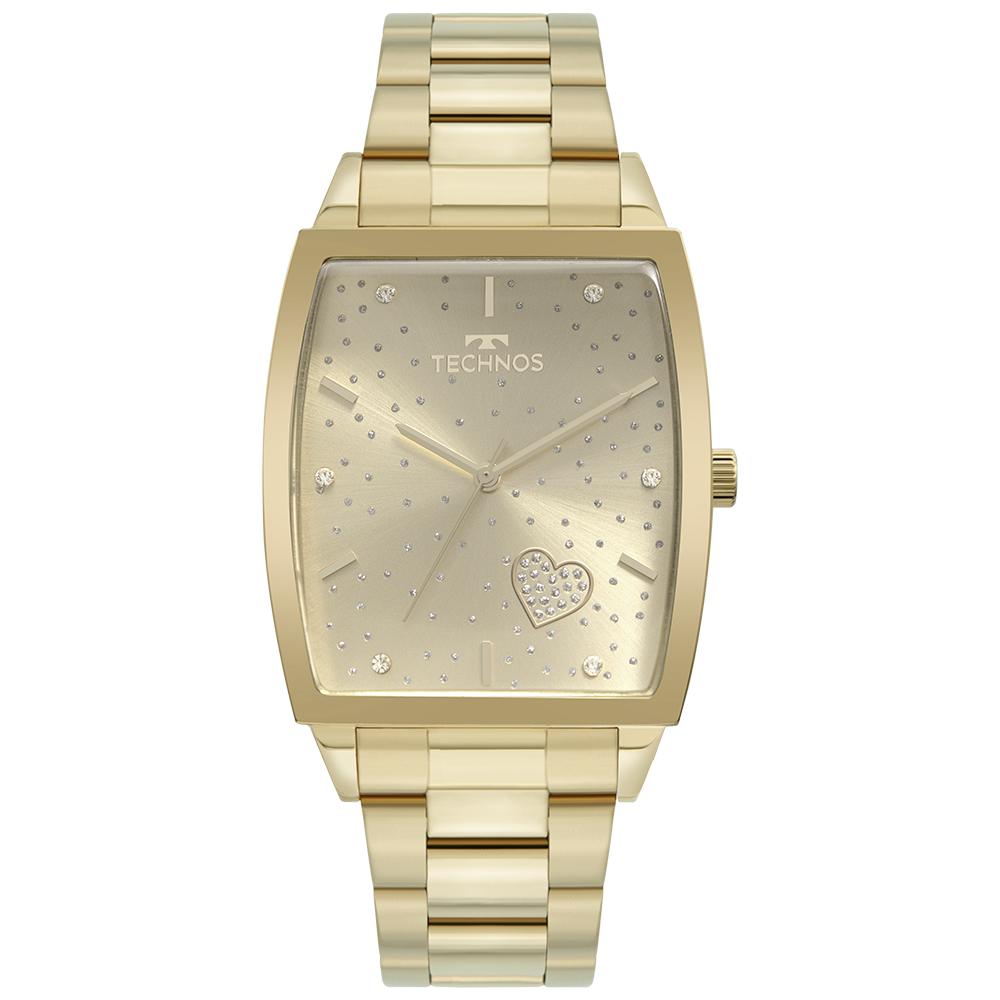 Relógio Feminino Technos Trend Dourado 2035MUJ/1X