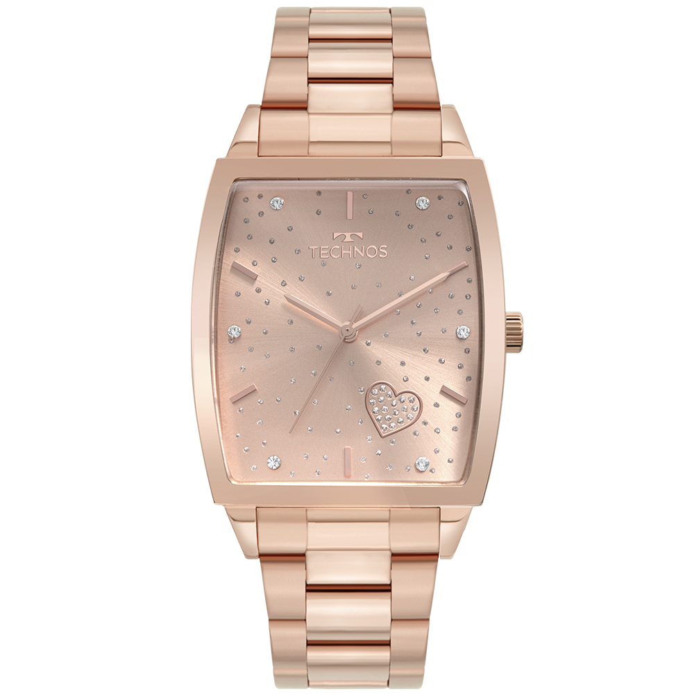 Relógio Feminino Technos Trend Rose 2035MUK/1T