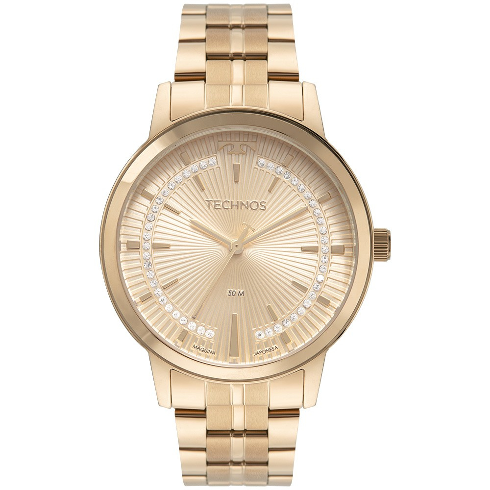 Relógio Feminino Technos Trend Rose 2036MMS/1C