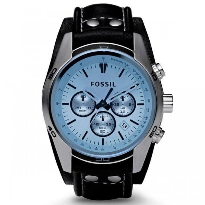 Relógio Fossil Cuff Cronógrafo Masculino CH2564/0KN