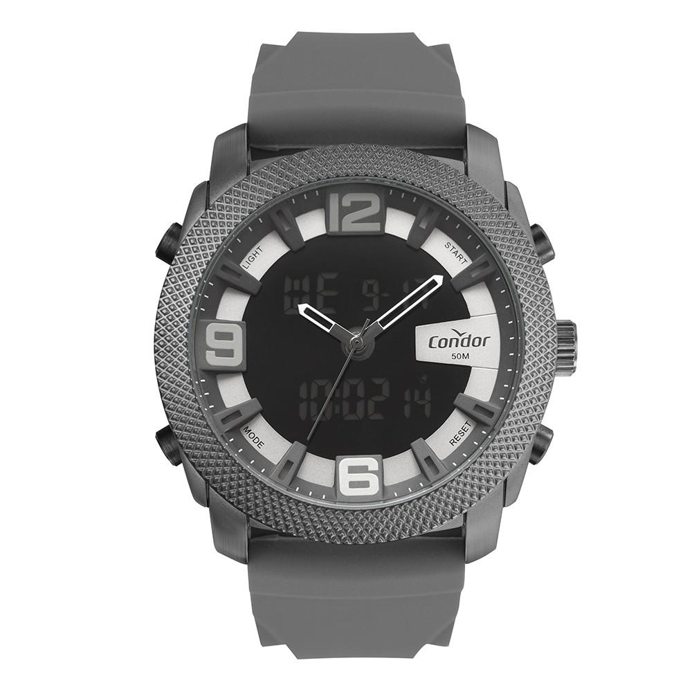 Relógio Masculino Condor AnaDigi Cinza COBJ3815AA/5A
