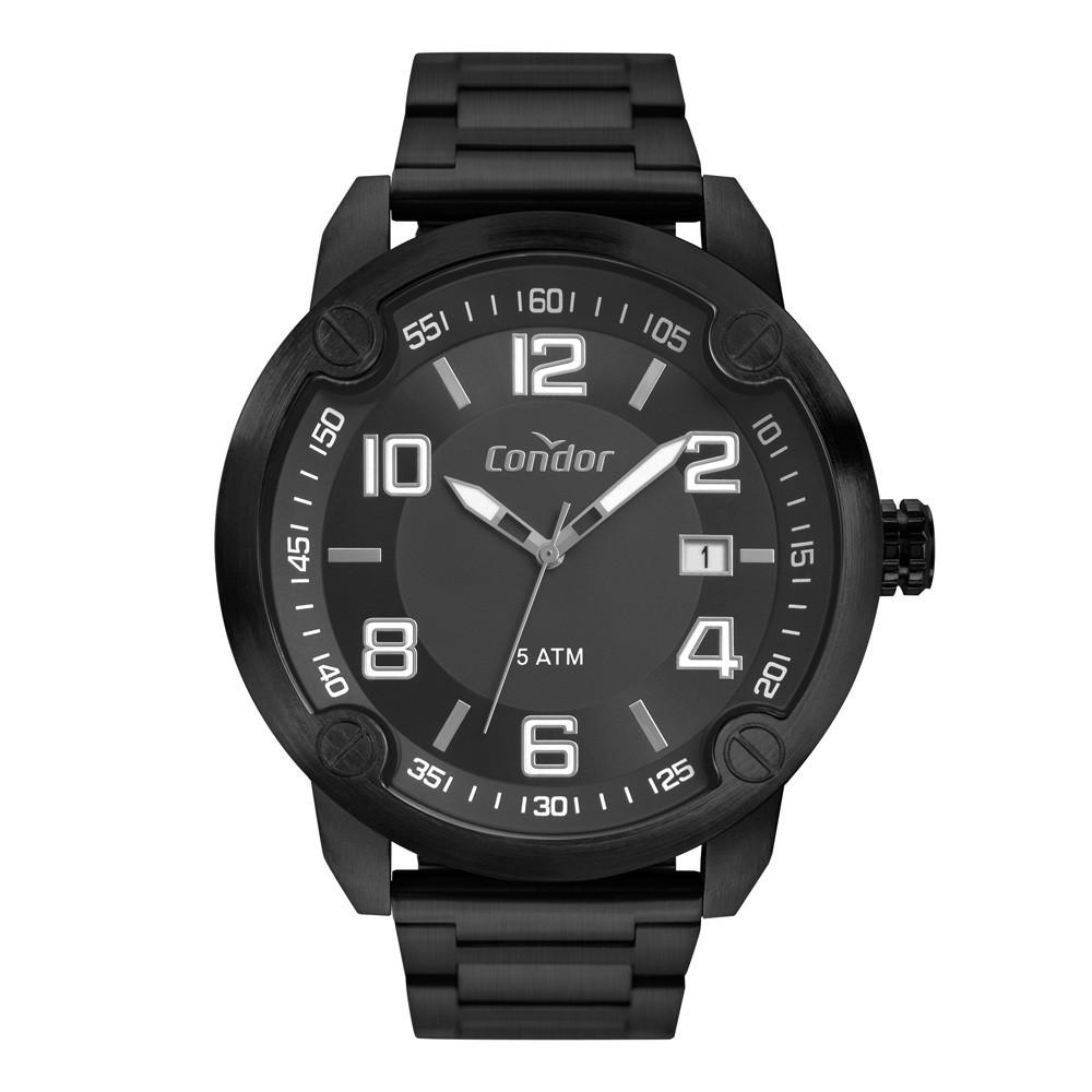 Relógio Masculino Condor Preto CO2415BR/4P