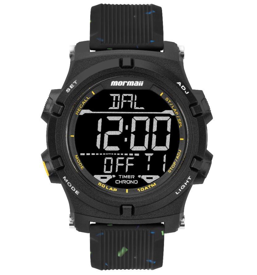 Relógio Masculino Mormaii Action Preto MO1192AE/8P