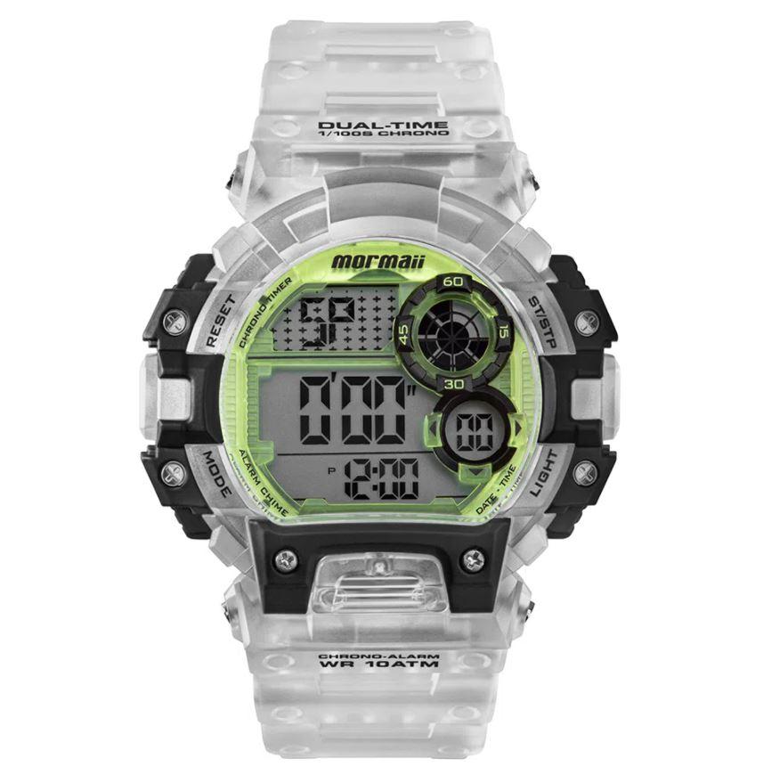 Relógio Masculino Mormaii Action Transparente MO13613AC/8W
