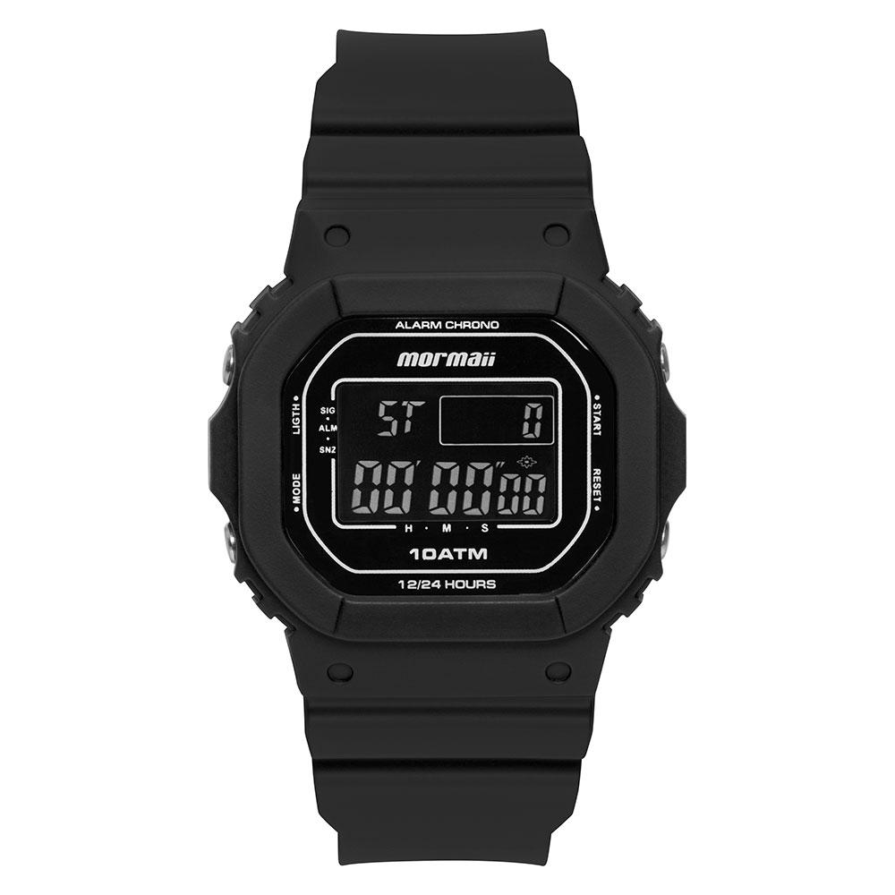 Relógio Masculino Mormaii Wave Preto MO0300JB/8P