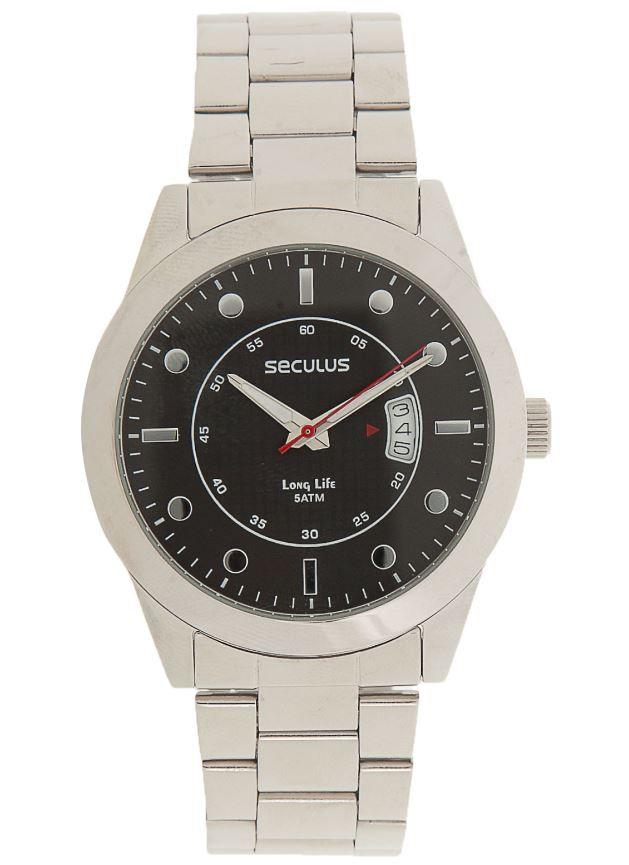 Relógio Masculino Seculus Prata 28342G0SGNA1