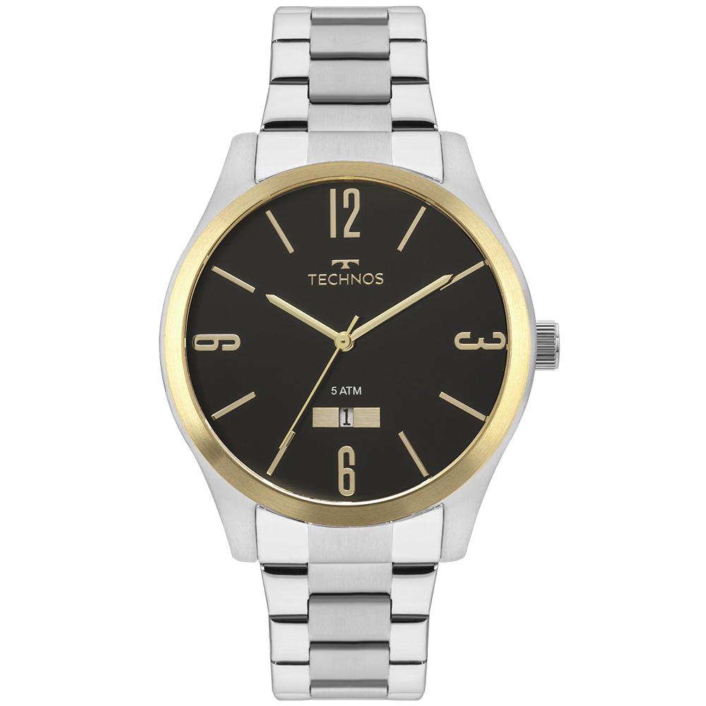 Relógio Masculino Technos Classic Steel 2115MNVS/1P