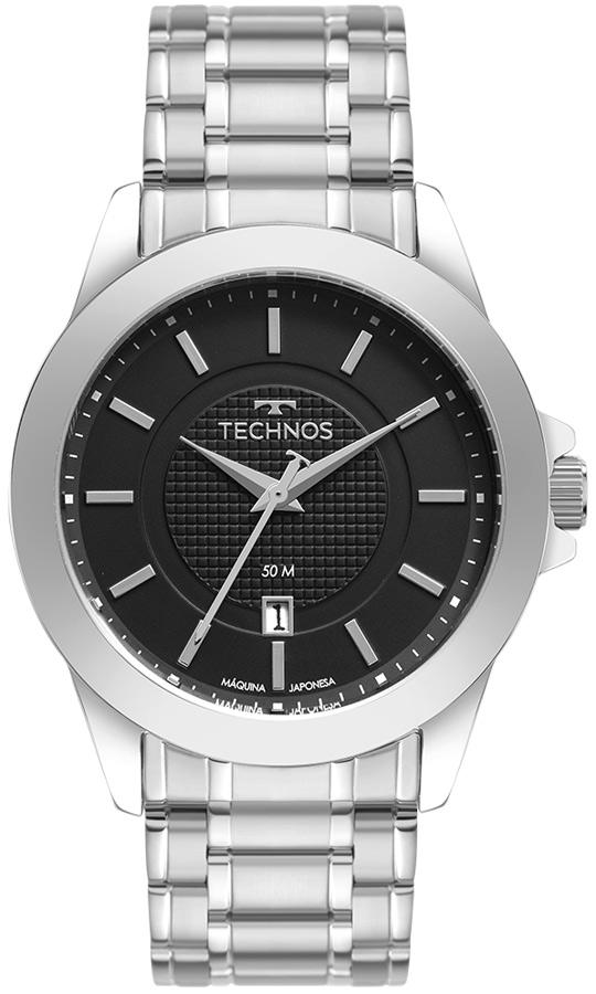 Relógio Masculino Technos Classic Steel 2115MXG/1P