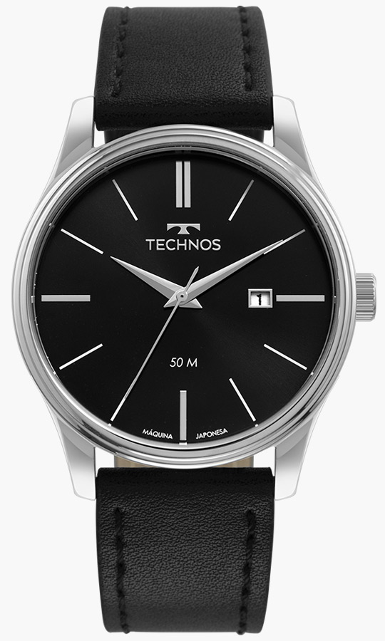 Relógio Masculino Technos Classic Steel 2115MXU/0P