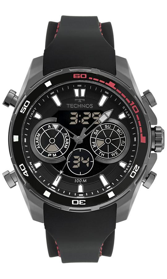 Relógio Masculino Technos Digiana Racer BJ3530AB/2P